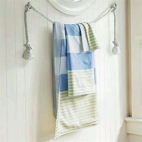 towel rack ideas for bathroom 57 best images about nautical themed bathrooms on