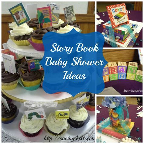 themes story books storybook baby shower ideas