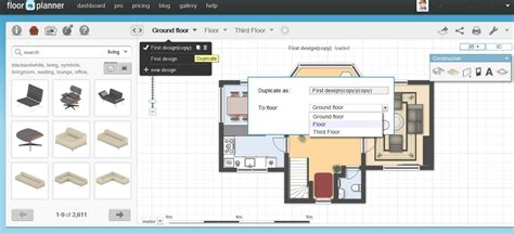 free floor design software free floor plan software floorplanner review
