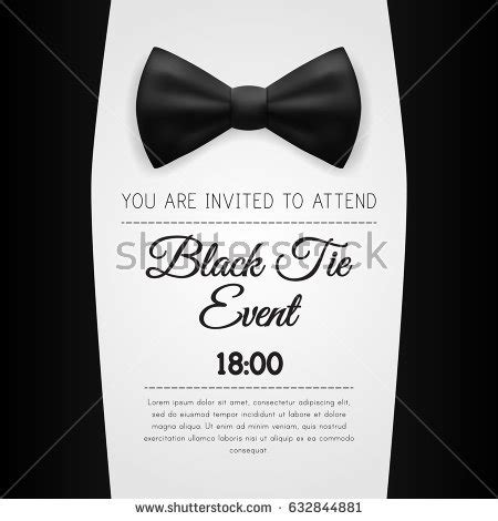 Tuxedo Stock Images Royalty Free Images Vectors Shutterstock Black Tie Event Program Template