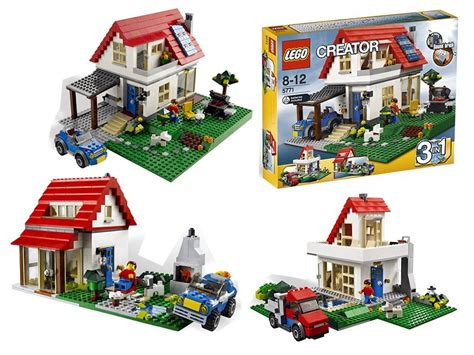 Lego Creator 3 In 1 Hillside House 5771 Bonus 2 Mini Figure jual lego creator 3 in 1 hillside house 5771 bonus 2 mini