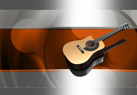 Free Guitar Backgrounds For Powerpoint Music Ppt Templates Guitar Powerpoint Template