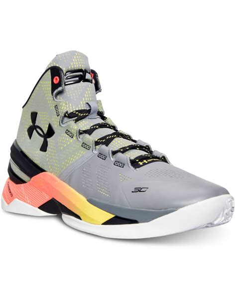 basketball shoes finish line armour s curry two basketball sneakers from