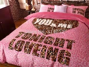 Victoria s secret pink bedding set queen scripto