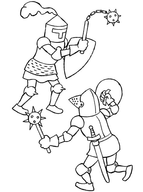 Knights Coloring Pages Coloringpages1001 Com Knights Colouring Pages