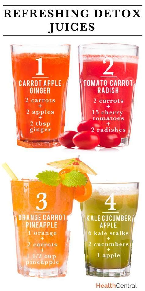 Juice Detox by Refreshing Detox Juice Recipes Juicing Smoothie Detox