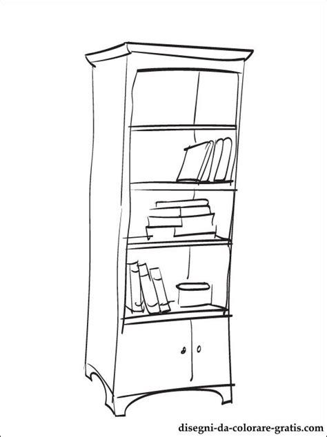 disegnare una libreria disegno di libreria da colorare disegni da colorare gratis