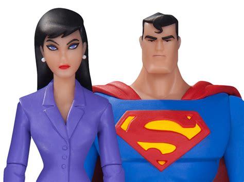 Dc Comics Collectibles Superman Lois 2 Pack Animated Series superman the animated series superman lois two pack