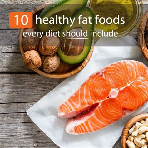 healthy fats in food 10 healthy foods every diet should include