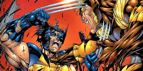 Kaos Wos Wolverine 15 wolverine and sabretooth their 15 most vicious fights