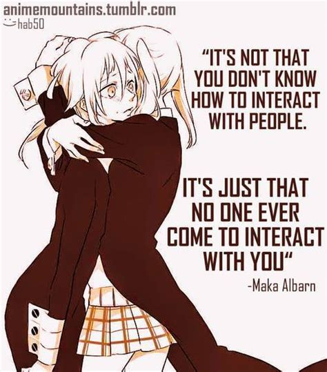 Anime Quotes by Anime Soul Eater Quotes Quotesgram