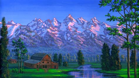 free painting lesson picture
