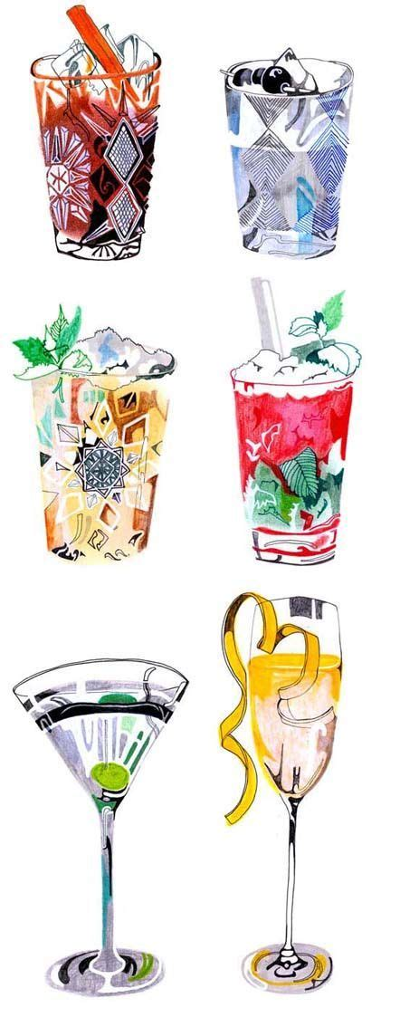 manhattan drink illustration best 25 cocktails drawing ideas on pinterest fire