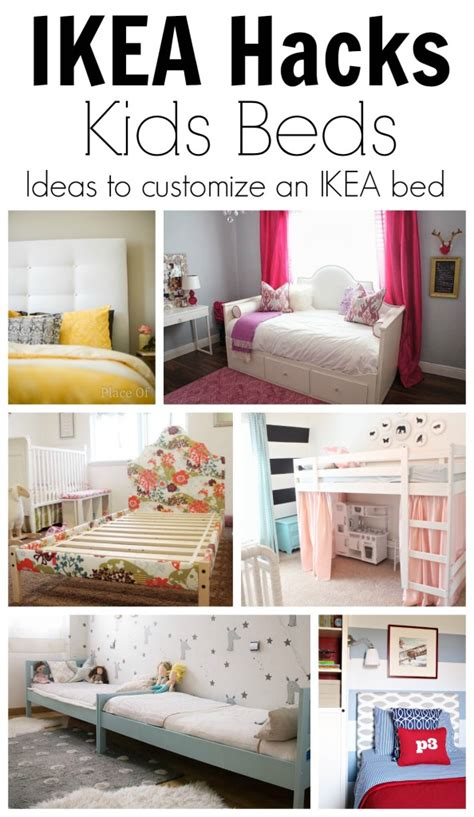 idea hacks ikea hack ideas to customize kids beds