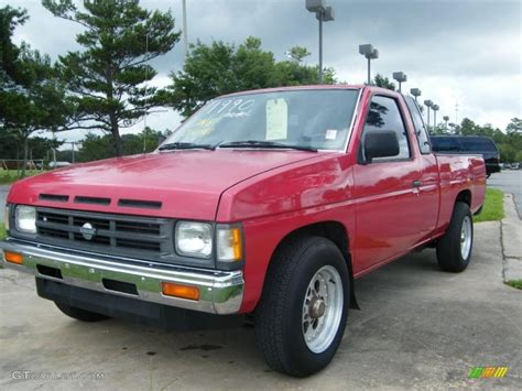 1990 nissan truck 1990 red nissan hardbody truck extended cab 34924354