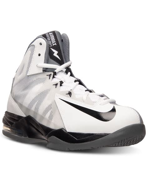macy s basketball shoes nike s air max stutter step 2 basketball sneakers from