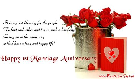 Marriage Anniversary Image For Chacha And Chachi by Happy 1st Marriage Anniversary Quotes And Messages