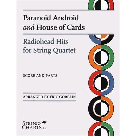 radiohead house of cards radiohead paranoid android house of cards string quartet score and parts