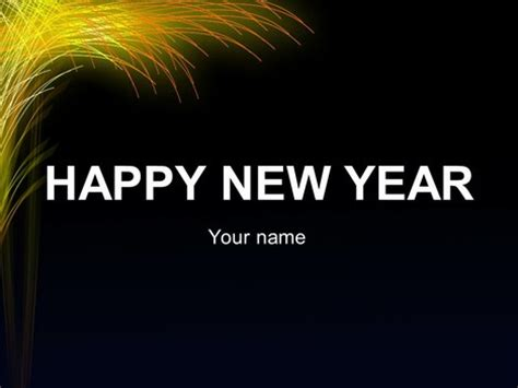 ppt templates for new year new year template