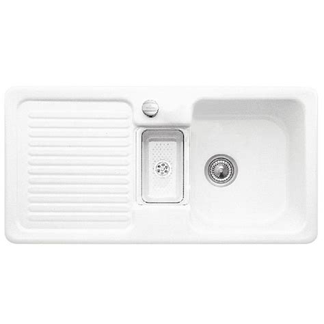 villeroy and boch sinks villeroy and boch condor 60 ceramic kitchen sink