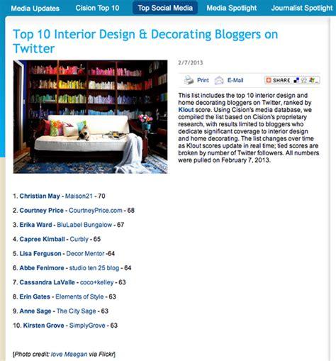top decor blogs top ten interior design blogs uk interior design bloggers
