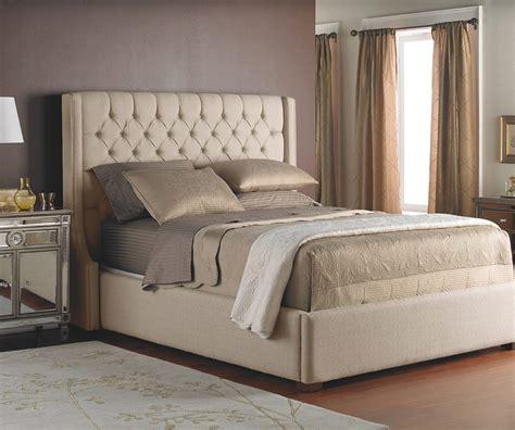 ariel queen fabric bed decorium furniture