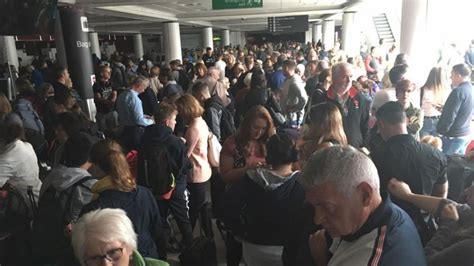 haircut edinburgh airport edinburgh airport in darkness after power cut