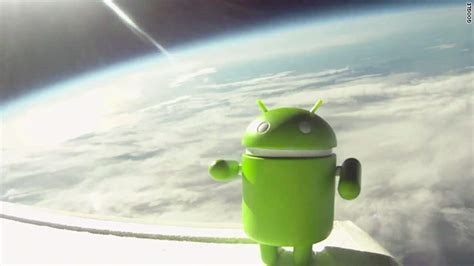 android space androids in space launches phones into orbit cnn