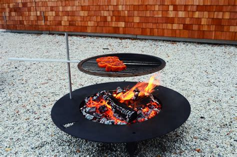 feuerschale edelstahl 75 cm fireplate designer feuerschale 75cm schwarz radius