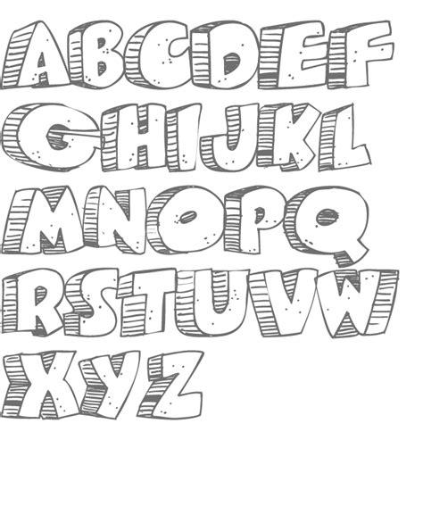 imagenes de letras variadas plantilla alfabetos 08 gif 676 215 824 letras pinterest