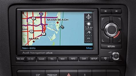 Navigation Plus Audi by 2010 Audi A3 Audi Navigation Plus Eurocar News