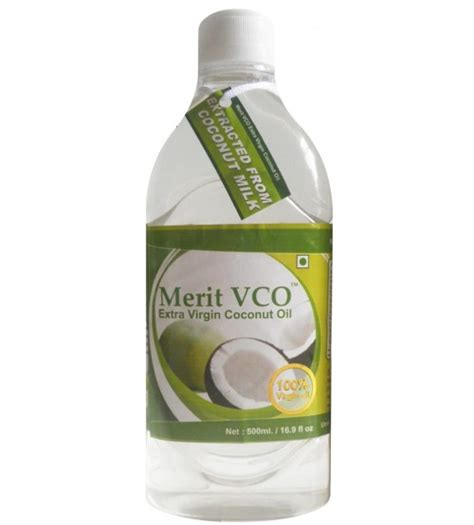 Coco Vco Coconut 500ml buy coconut at rs 337 india by merit vco healthyworld