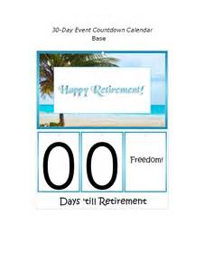 Retirement Calendar Search Results For Countdown Calendar To Retirement