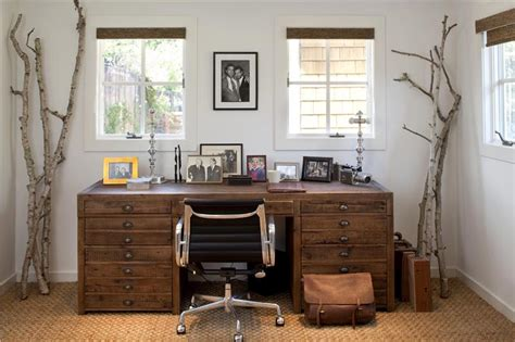 country office cozy country rustic home office by tineke triggs