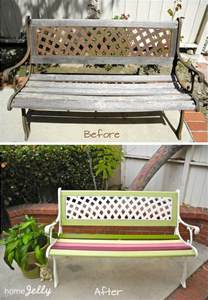 Redo Bathroom Ideas weekend diy project wow up an old park bench homejelly
