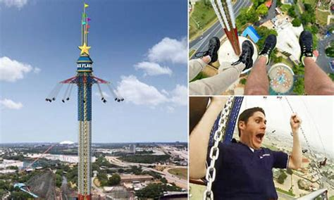 highest swing ride scream if you want to go higher the world s highest swing