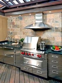 kitchen ventilation ideas optimizing an outdoor kitchen layout hgtv