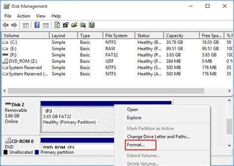 format cd udf file system these 3 ways helps format usb to ntfs in windows 10 8 7
