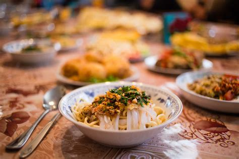 dungan family dinner food tour eat with locals in karakol