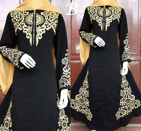 Puasat Grosir Baju Lidia Dress Katun Jepang model baju arab holidays oo