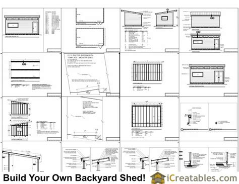 Free Shed Blueprints 12x20 by November 2014 Goehs