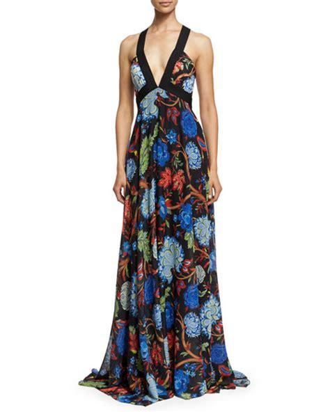Celina Maxi sleeveless celina alder floral maxi dress