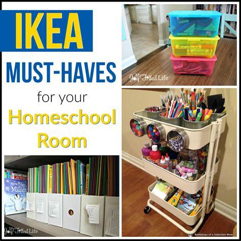 ikea  haves   homeschool room  joy filled life