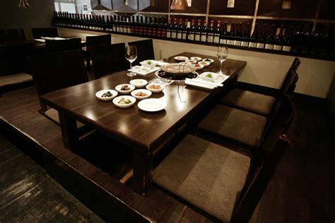 Upscale Dining Room Furniture Best Korean Bbq Nyc Has To Offer At Korean Restaurants