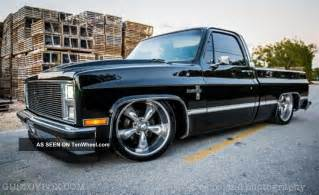 85 Chevy Silverado Wheels 1981 Chevrolet Silverado C10 Pro Touring Classic Up