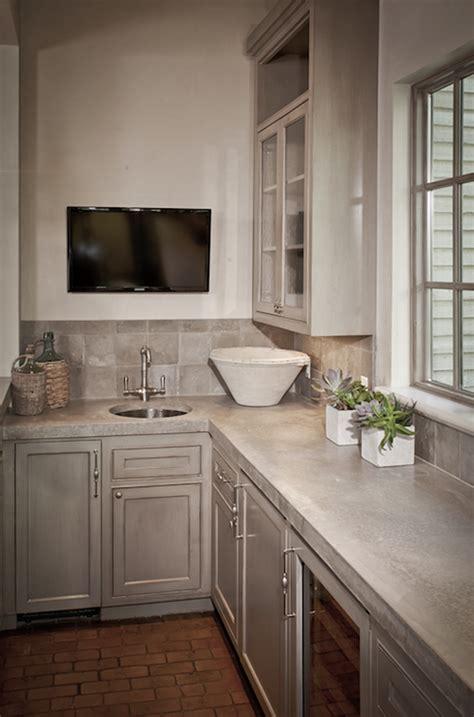 kitchen cabinets  concrete countertops design ideas