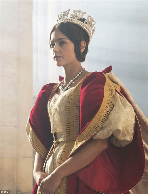 itv drama queen victoria queen victoria s very raunchy side revealed in itv s new