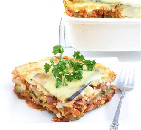 vegetarian eggplant moussaka recipe vegetable moussaka recipe dishmaps