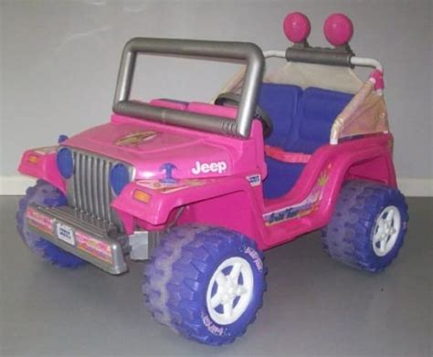pink jeep power wheels he tears apart an power wheels jeep days later