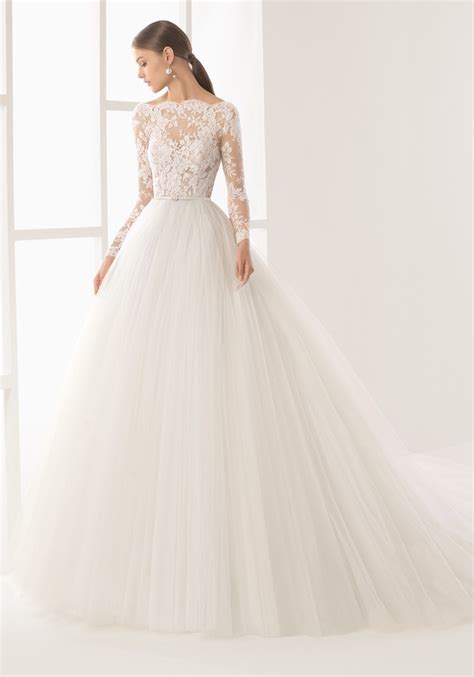 hochzeitskleid rosa clara rosa clara tattoo effect princess wedding gown